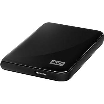 "WD MY Passport Essential Hard Disk Esterno, 500 GB, 2.5"", USB 3.0, Nero"