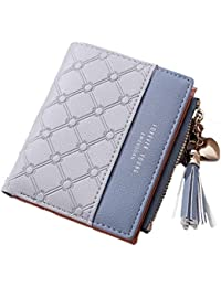 21a1ba00413 SYGA Wallet for Women Small Compact Wallet Bifold, Credit Card Holder Mini  Bifold Pocket Wallet
