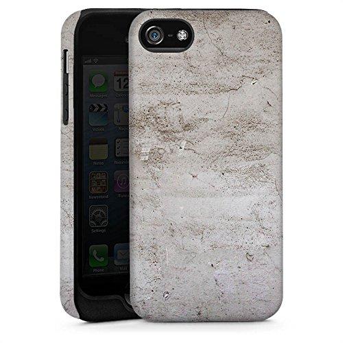Apple iPhone 4 Housse Étui Silicone Coque Protection Pierre Structure Mur Cas Tough brillant