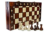 SENATOR - Large 40cm / 16in Handcrafted Classic Wooden Chess Set