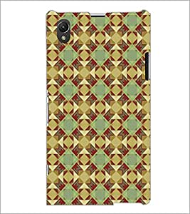 PrintDhaba Pattern D-5221 Back Case Cover for SONY XPERIA Z1 (Multi-Coloured)