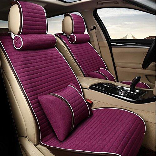 GDS MS-Autositz/Sitzkissen / vier Jahreszeiten universal Auto-Sitzbezüge , purple