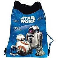 STAR WARS Robot BB-8e R2-D2sacchetto Piscina Scarpe Scuola Spiaggia novità attività scolastico e extrascolaire
