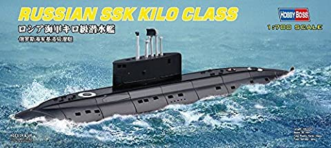 Hobby Boss 87002 Plastic Model Kit Scale 1:700 - Russian Navy Kilo Class Submarine by Hobbyboss