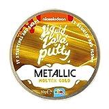 Nickelodeon Liquid Lava Putty Metallic Molten Gold