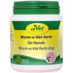 WURM-o-Vet forte Pulver f.Hunde 150 g Pulver