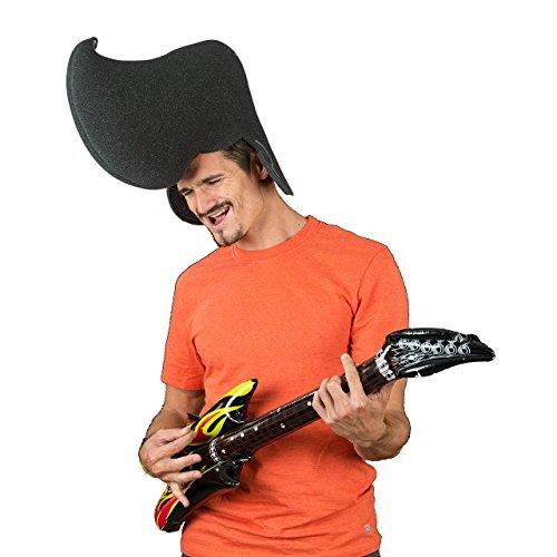 Pazzo gommapiuma parruca - Elvis