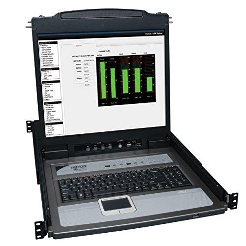 Tripp Lite B020-U08-19-IP NetDirector 8-Port 1U Rackmount Console KVM-Switch mit 19 Zoll LCD- und IP-Fernzugriff 0 0 16-Port -