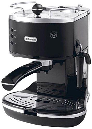 De'Longhi ECO311.BK ICONA Macchina per Caffè Espresso con Pompa, Nero