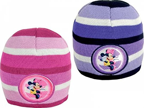 Coppia cappellini invernali minnie
