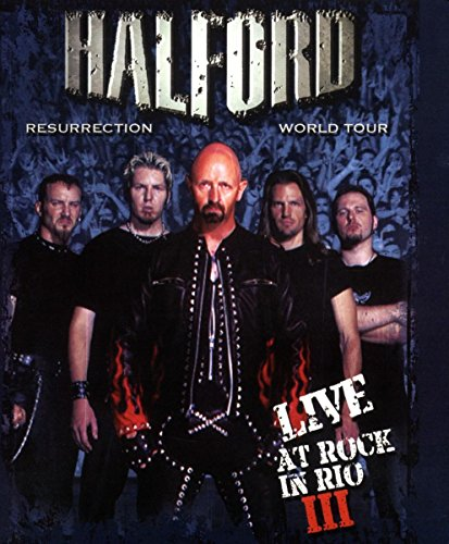 Preisvergleich Produktbild Halford - Resurrection World Tour/Live at Rock in Rio III [Blu-ray]