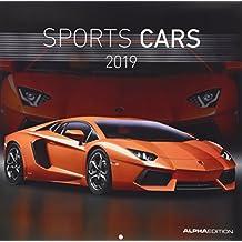 Sports Cars 2019 - Autokalender / Broschürenkalender (30 x 60 geöffnet) - Sportwagen - Autokalender - Fahrzeuge - Wandplaner