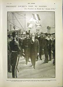 Copie 1903 de Visite du Président Loubet France Algérie