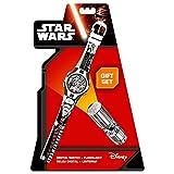 Star Wars Set Uhr mit Taschenlampe (Kids Euroswan swe7053)