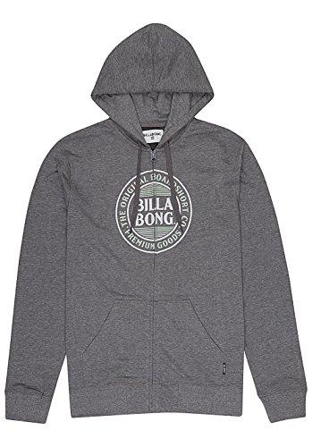 Billabong Danapoint Zh, Maglione Sportivo Uomo Dark Grey Heath