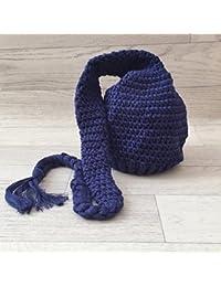 Bonnet Elf 0/6 mois- modèle bleu nuit