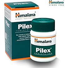 HIMALAYA HERBALS Pilex | All Natural Piles Hemorrhoids Treatment | Fissure Treatment, Pain Relief | Gluten-free Tablets, 100 Count (1-Pack)