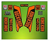 Pegatinas HORQUILLA Rock Shox Recon 2016 ELX33 Stickers Aufkleber AUTOCOLLANT Decals Bicicleta Cycle MTB Bike 26