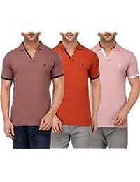 Youthen Cotton Polo Neck T-Shirt