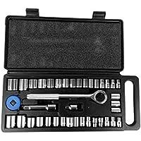 MUANI Haushalts-Werkzeug-Buchse Auto-Reparatur-Ratschenschlüssel-Satz Kombination Hand Tool Kit Cr-v Handwerkzeuge... preisvergleich bei billige-tabletten.eu