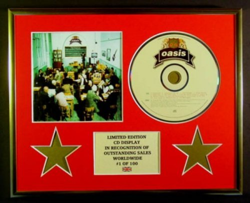 OASIS/CD Display/Limitata Edizione/Certificato di autenticità/THE MASTERPLAN