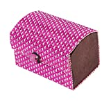 Phenovo Womens Fashionable Home Travel Use Cosmetic Toiletry Make-up Beauty Tools Holder Storage Case Bag Pink