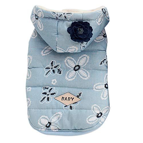VENMO Katze Hundemantel Jacke Pet Supplies Kleidung Winter Bekleidung Welpen Kostüm Warm Fleece Kleiner Hund Kleidung Hoodie Sweatshirt Jacke Mantel Kostüm Haustier Kleidung Bekleidung -