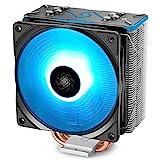 DeepCool Gammaxx GT BK Ventola per CPU, compatibili con Intel e AMD,1x Ventola da 92mm PWM(AM4 Compatibile, Pasta Termico Incluso)