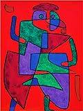 Stampa su Tela 100 x 130 cm: der Künftige, 1933 di Paul Klee/ARTOTHEK - Poster Pronti, Foto su Telaio, Foto su Vera Tela, Stampa su Tela