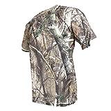 Unbekannt Sharplace Männer Kurzarm T-Shirt Jagd Bionische Tarnung Schnell Trocknend Kleidung - XL