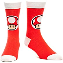Nintendo Socken - Mushroom rot (43-46) [Importación Alemana]