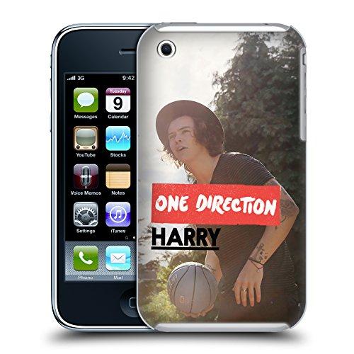 Offizielle One Direction Shirt Weiss Foto Harry Styles Ruckseite Hülle für Apple iPhone 6 / 6s Ball