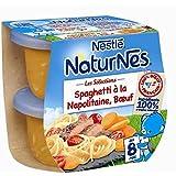 Nestlé naturnes spaghetti a la napolitaine boeuf 2x200g dès 8 mois - ( Prix Unitaire ) - Envoi Rapide Et Soignée
