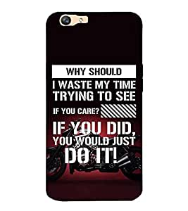 ifasho Designer Back Case Cover for Oppo F1s (Closely Allied Reno Entertainment)