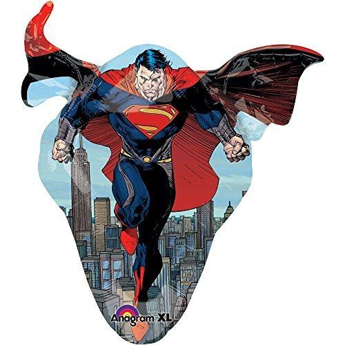 Superman Man of Steel Ballon, 79 cm (Fancy Dress-websites Günstige)