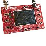 "KKmoon DSO138 2.4"" TFT Gelötet SMD/ Oszilloskop Kit Set / Handheld Taschenformat Digital DIY Teile/ 1Msps E-Learning Open-Source STM32 Oszilloskop"