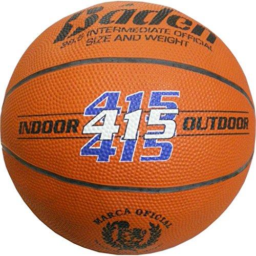 Baden REF 415 - Balón de baloncesto, color naranja, tamaño 6