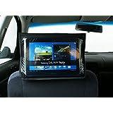 Soporte de Tablet iPad para reposacabezas de asiento trasero, color Negro [032]