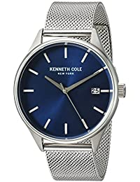 Montre Kenneth Cole Homme modèle Dress Code Bleue et Grise - 10030837
