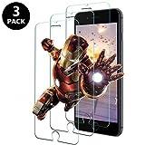 KOFOHO Panzerglas für iPhone 8 / iPhone 7 [3 Stück] - HD Panzerglasfolie 9H Härte 2.5D Displayschutzfolie, Handy Glasfolie 3D Hartglas, Anti-Kratzen,Anti-Bläschen,Anti-Fingerabdruck
