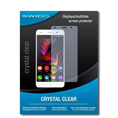 SWIDO Schutzfolie für Oukitel C5 Pro [2 Stück] Kristall-Klar, Hoher Härtegrad, Schutz vor Öl, Staub & Kratzer/Glasfolie, Bildschirmschutz, Bildschirmschutzfolie, Panzerglas-Folie