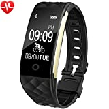 willful activity fitness tracker cardio impermeabile ip67 per nuoto bluetooth smartband orologio braccialetto pedometro, unisex