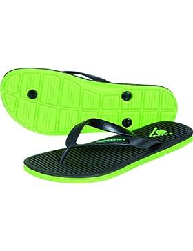 Aqua Sphere Hawaii Zapatillas para piscina Negro negro/verde Talla:Eur 42
