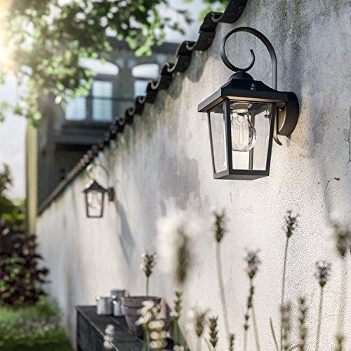 confronta il prezzo Philips Buzzard Lampada da Parete, Illuminazione Esterno per Giardino, 1 x 60 W miglior prezzo