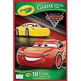 Páginas gigantes para colorear de Cars 3, de Crayola 04 0126 0-000