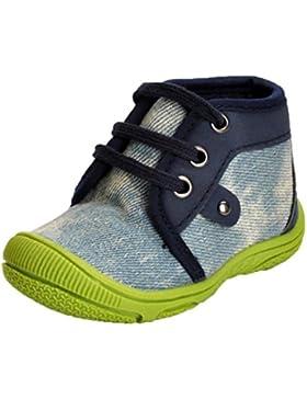 Mode Prewalker Krippe Denim Schuhe HKFV, Acryl Anti-Kicking Spitze männlichen und weiblichen Baby Outdoor-Schule...