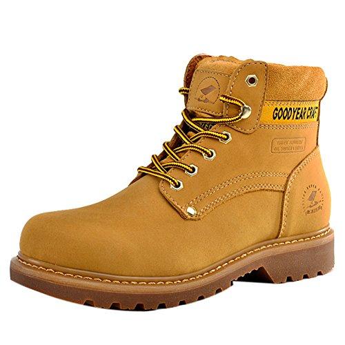 Insun , Herren Stiefel, gelb - gelb - Größe: 41 - Cold Weather Combat Boots