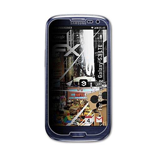 atFolix Blickschutzfilter für Samsung Galaxy S3 LTE Blickschutzfolie - FX-Undercover 4-Wege Sichtschutz Displayschutzfolie