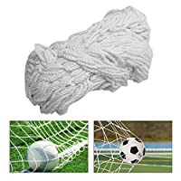 TOPINCN Soccer Net Durable Soccer Goal Nets Sports Replacement for Lacrosse and Soccer (6X4foot,8X6foot,12X6foot,24X8foot)(8X6FT)