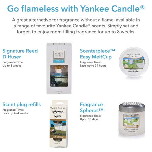 Zoom IMG-1 yankee candle snowflake cookie scenterpiece